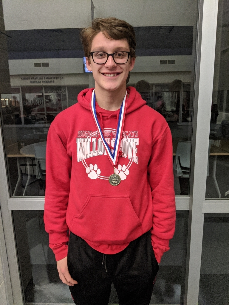 Congratulations to Gabe Peeck who scored in the top 10 students to answer the most toss up questions in  Friday's Marion County Scholar Bowl Tournament at Kaskaskia College.